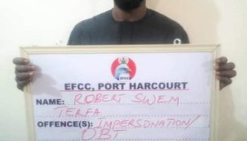 Ibrahim magu 'impersonator' arraigned by EFCC and prosecuted in Port Harcourt