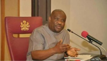 Gov Wike expresses concern over PDP's loss in Bayelsa state