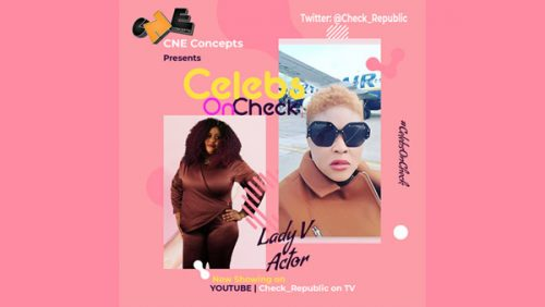 Video: Celebs on Check chats with Nollywood Actress, Lady V - Vera Gold