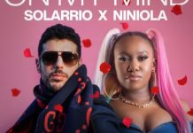 DOWNLOAD MP3: Solarrio x Niniola – On My Mind