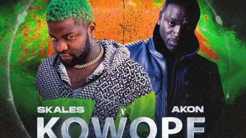 DOWNLOAD MP3: Skales x Akon – Kowope