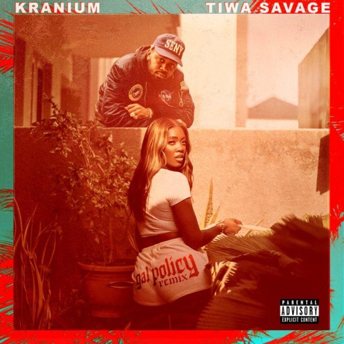 DOWNLOAD MP3: Kranium ft. Tiwa Savage – Gal Policy (Remix)