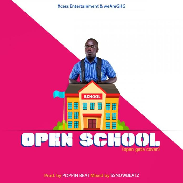 DOWNLOAD: Ajeezay – Open School (Kuami Eugene Open Gate Cover)