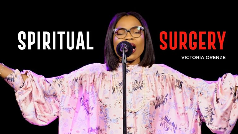 DOWNLOAD Mp3: Victoria Orenze – Spiritual Surgery