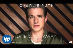 One Call Away By Charlie Puth