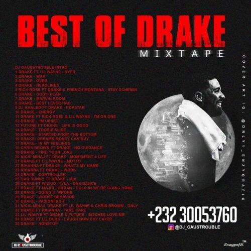 [Mixtape] DJ Causetrouble – Best Of Drake