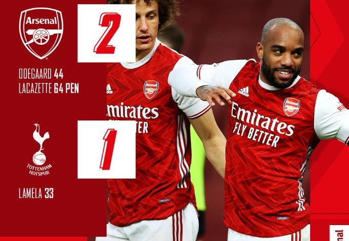 Arsenal vs Tottenham 2-1 – Highlights [FAST DOWNLOAD]