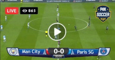 [LIVE STREAM] Manchester City vs PSG #MCIPSG