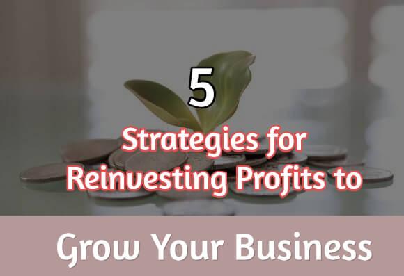 Reinvesting profits