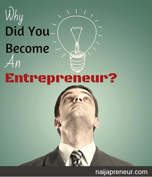 purpose of entrepreneurship