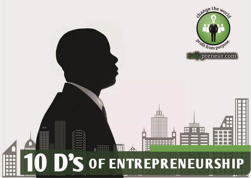 10 Ds of Entrepreneurship