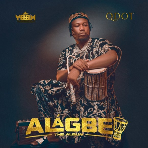 Qdot Alagbe The Album Artwork