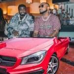 Davido Finally Picks Lati Call, Bought Him A Brand New Mercedes Benz