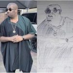 See Don Jazzy Reaction After An Artist Sketched His Photo
