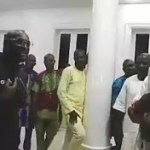 2Baba And his Wife Annie Visits Ooni of Ife, See What 2Face did (Video)