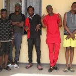 EFCC Officially Release The Pictures Of Naira Marley And Zlatan after their Arrest (See Photos)