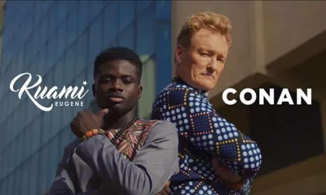 Kuami Eugene - For Love Ft. Conan OBrien [Audio + Video] Mp3 Mp4 Download