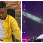 The Moment Lil Kesh And Young John Fell Off stage at the OLIC 2019 (Watch video)