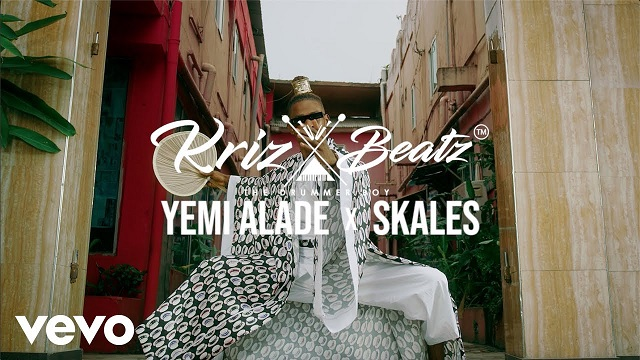 VIDEO: Krizbeatz Ft. Skales, Yemi Alade - Riddim Mp4 Download