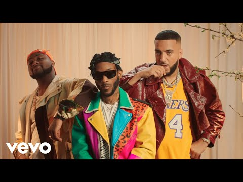 Angel Ft. French Montana, Davido – Blessings (Remix)VIDEO