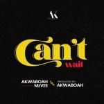 Akwaboah – Can't Wait Ft. MzVee