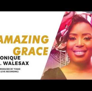 MoniQue - Amazing Grace Ft. Wale Sax Mp3 Audio Download