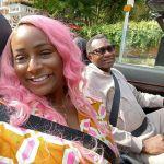 Days After Shutting The Internet, DJ Cuppy Carry Her First Ferrari Passenger