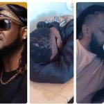 See what Rudeboy did to Wizkid, Timaya and Runtown while they were sleeping on a Plane (video)