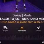 [Mixtape] Deejay J Masta – Lagos To Jozi (Amapiano Mix)