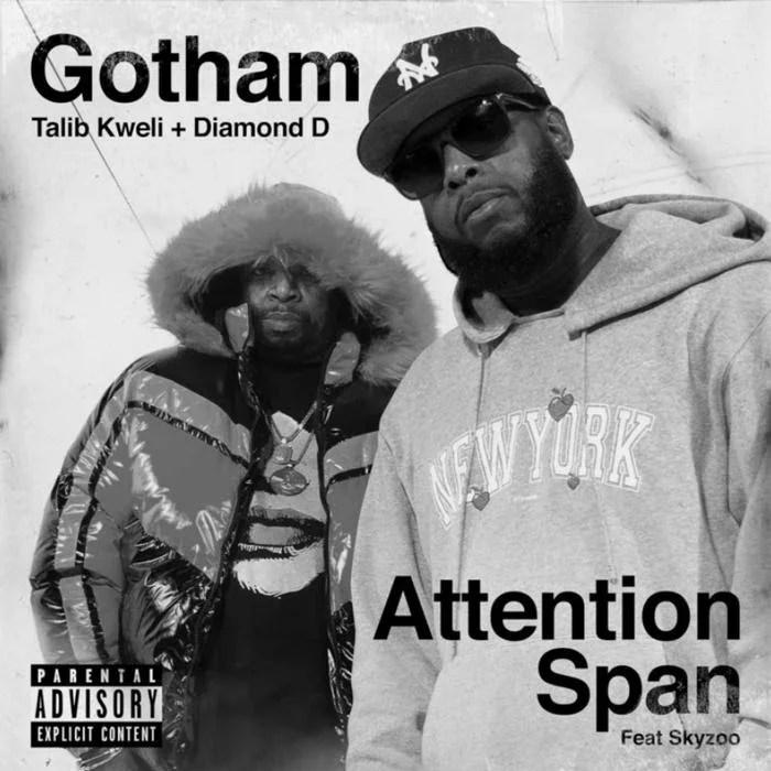 Talib Kweli & Diamond D - Attention Span Feat. Skyzoo