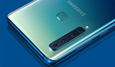 Samsung A9 launched with 4 back camera