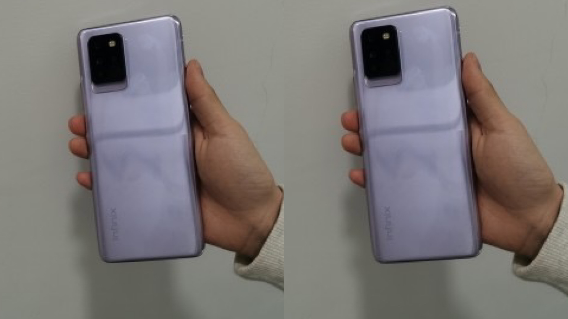Infinix Note 10 Pro appears in live images with quad camera and hole punch 1