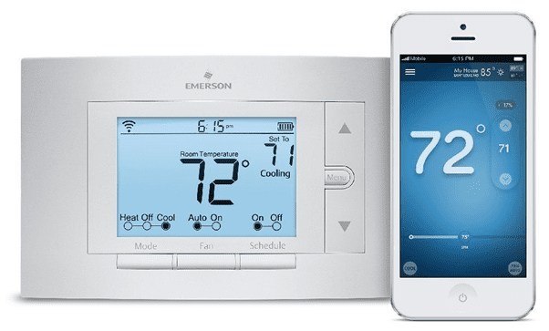 Smart Thermostat with Smartphone