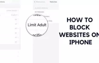 How to Block Websites on iPhone