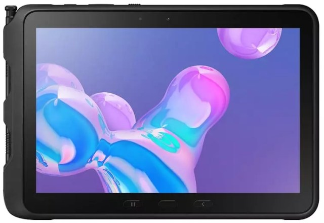 Front View of the Samsung Galaxy Tab Active Pro