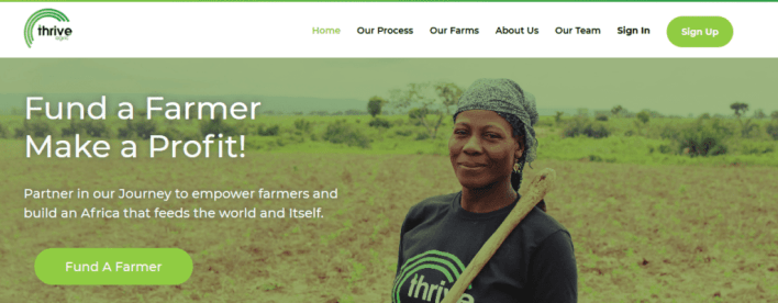 Agricultural Investment Platform - Thrive Agric