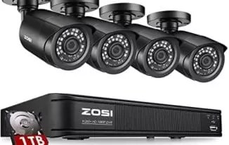 Zosi 8CH 1080p Security System