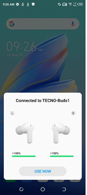 Connecting Tecno Buds 1