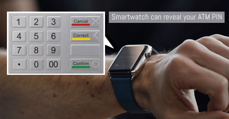 Hackers can steal your ATM pin from your Smart Watch 2