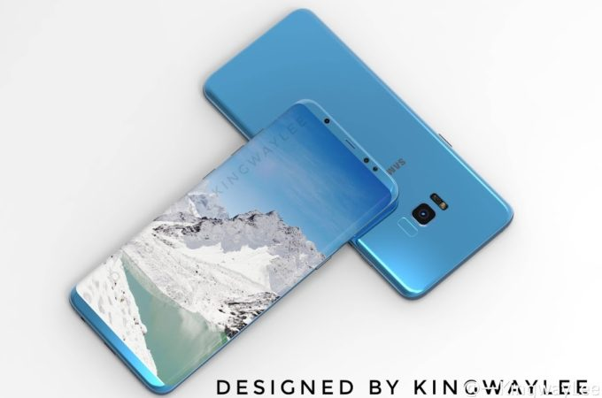 These Are The Most Beautiful Samsung Galaxy S8 Render's So Far 3