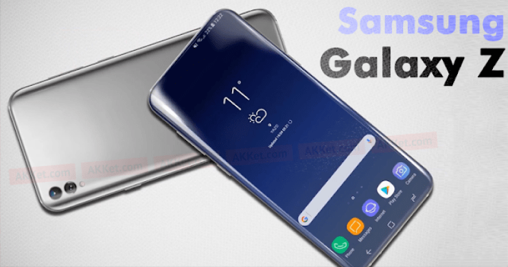 Check Out Samsung's Rumored 2018 Flagship Smartphone - The Samsung Galaxy Z (2018) 2