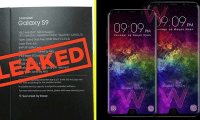 Leaked - See Specificications Of The Samsung Galaxy S9 32