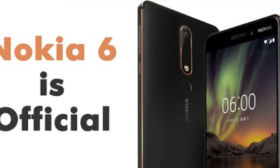 Nokia Launches The Nokia 6 (2018) - See Price And Specifications 1