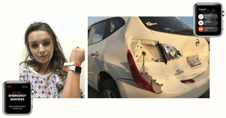 Apple Watch Saves Mom And Son After A Fatal Car Accident 2