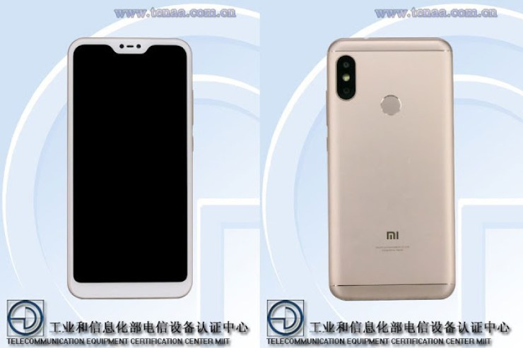 The Xiaomi Redmi 6 Will  Come With A Notch Like The iPhone X 3