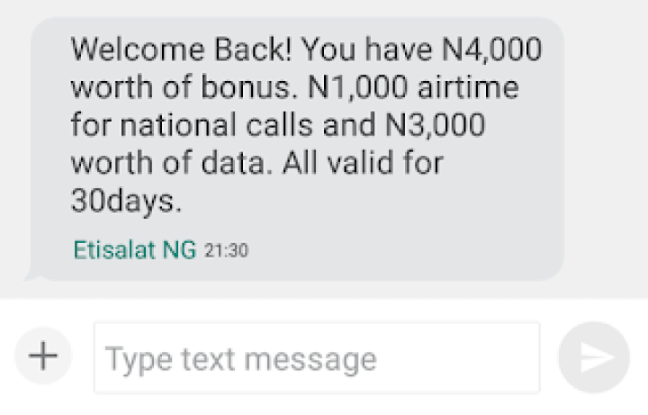 How To Get Free N5000 Airtime And 2GB Of Data On Your 9mobile SIM 4