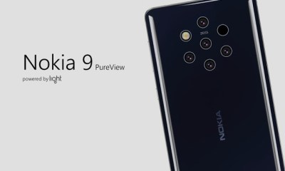 Video : An Exclusive Look At Nokia's New 5 Camera Phone - Nokia 9 Pureview 4
