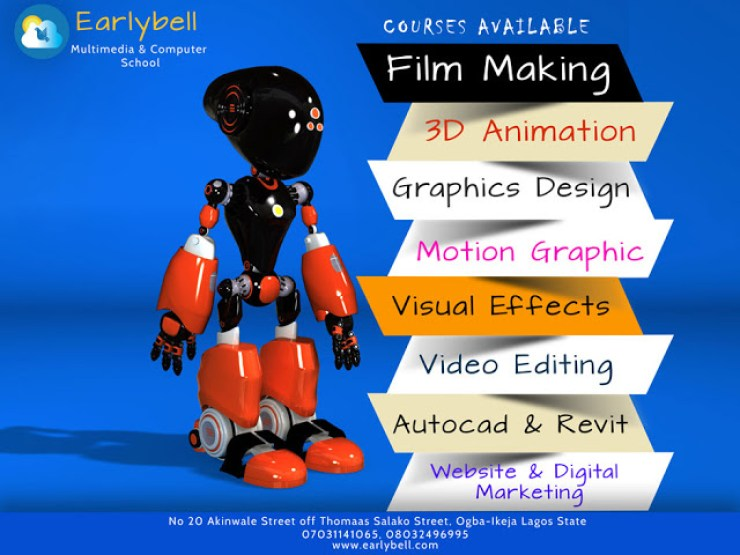 Make Money From 3D Animation,Graphics And Video Fx - Enroll For EarlyBell Courses 6