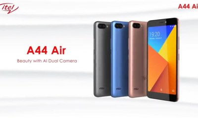 iTel A44 Air – Full Price And Specifications 1