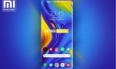 xiaomi curved screen phone